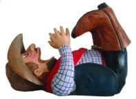 Guzzlers Cowboy Wine Bottle Holder